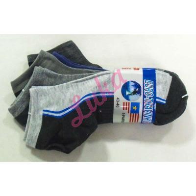Men's low cut socks Euro Thavinko mv36
