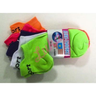 Women's low cut socks Euro Thavinko kc38