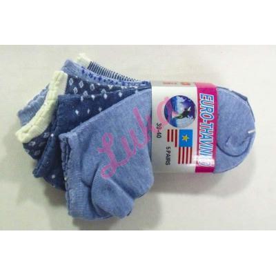 Women's low cut socks Euro Thavinko kc45