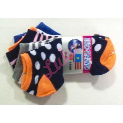 Women's low cut socks Euro Thavinko v-kc65