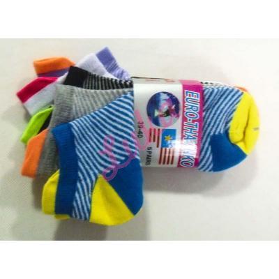 Women's low cut socks Euro Thavinko v-kc59