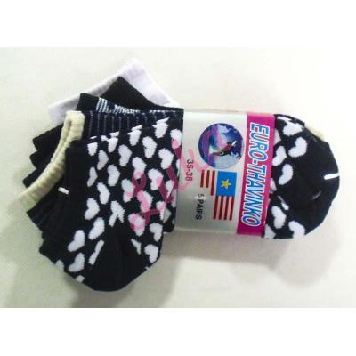 Women's low cut socks Euro Thavinko kc57