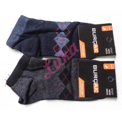 Men's turkish low cut socks Burcak bu88-03