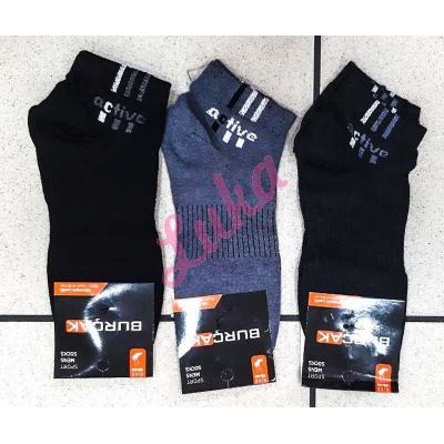 Men's turkish low cut socks Burcak bu88-06