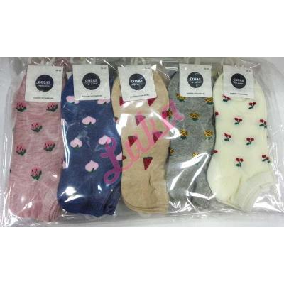Women's low cut socks Cosas lm60-