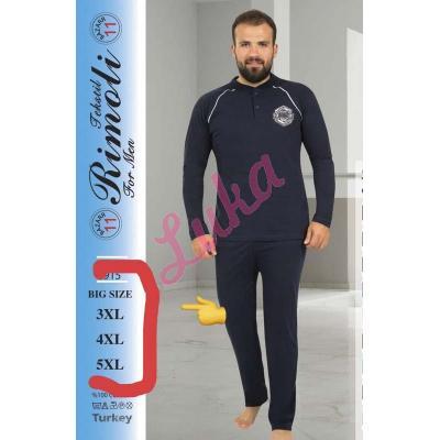 Piżama męska turecka ufo-