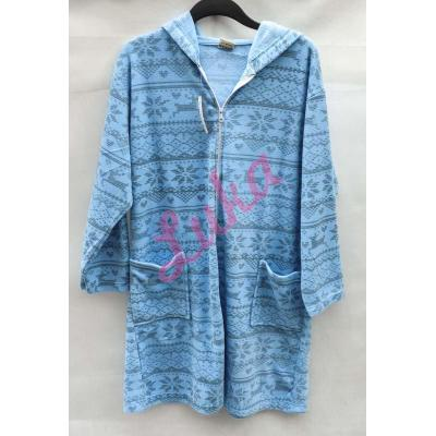 Women's thick dressing gown