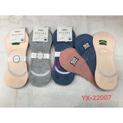 Women's low cut socks Bixtra yx2200