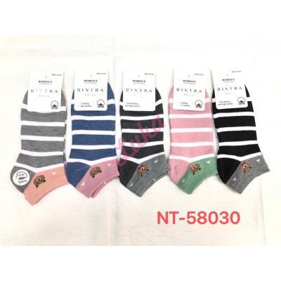Women's low cut socks Bixtra nt58030