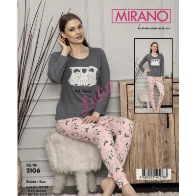 Piżama damska turecka Mirano