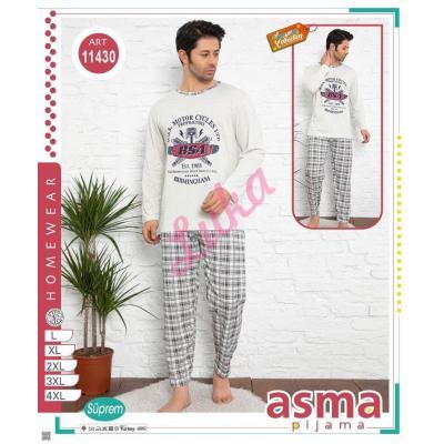 Men's turkish pajamas big size Asma 1