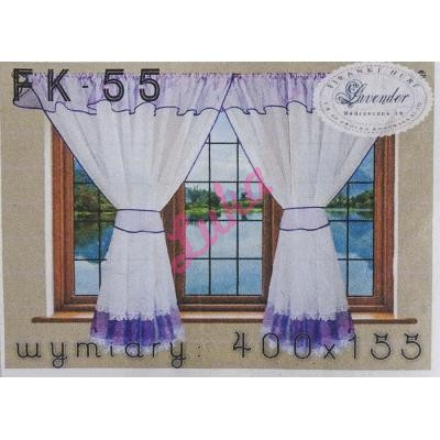 Firanka Lavender 400x155 fk55