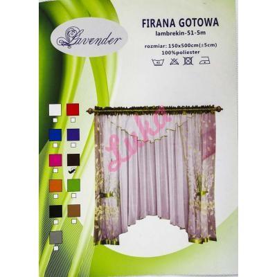 Firanka Lavender 400x150 51-5