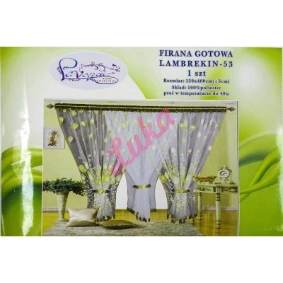 Firanka Lavender 400x150 53