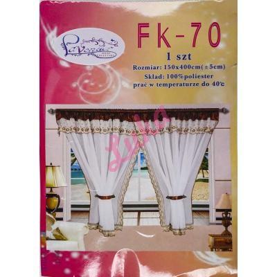 Firanka Lavender 400x150 fk70