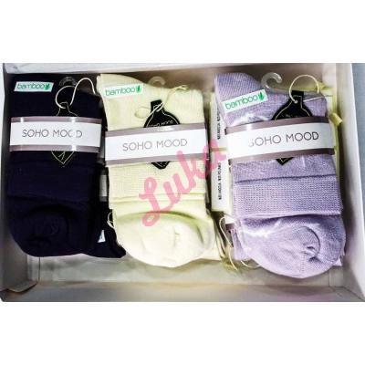 Turkish women's socks in box Soho Mood 2581