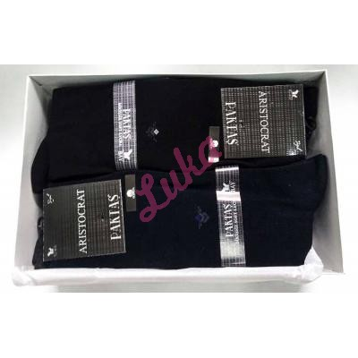 Men's turkish socks in box Paktas 1521 akseki