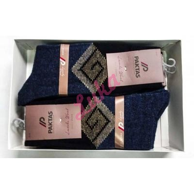 Men's turkish socks in box Paktas 1519-3