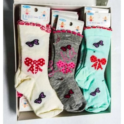 37/5000 Turkish children's socks in box Lateks 121a