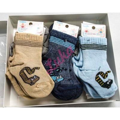 37/5000 Turkish children's socks in box Lateks 120