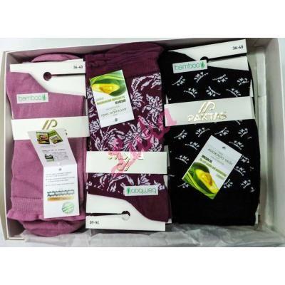 Women's bamboo turkish socks in box Paktas 2550f