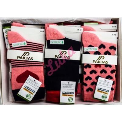 Women's turkish socks in box Paktas 2550-2