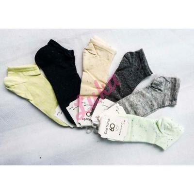 Women's turkish low cut socks Goo Socks 023