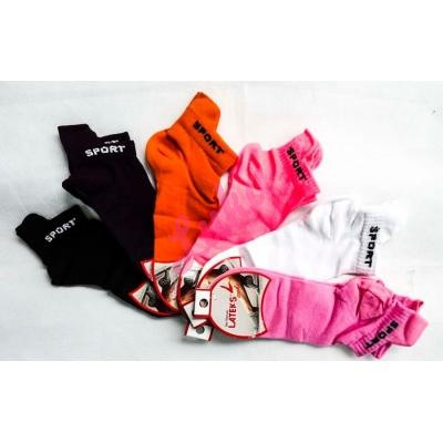 Women's turkish low cut socks Lateks 023-2