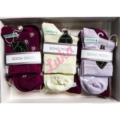 Women's turkish low cut socks in box Soho 2581