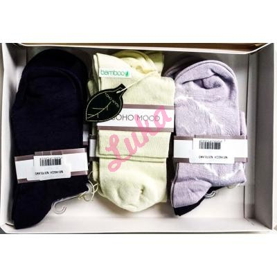 Women's turkish low cut socks in box Soho 2581-1
