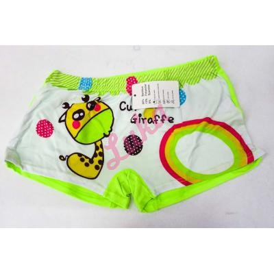 Girl's bamboo boxer Tell