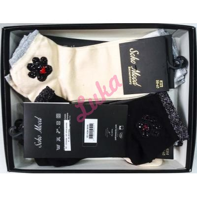 Turkish women's socks in box