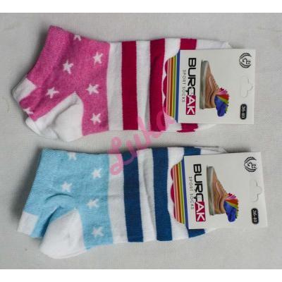 Women's turkish low cut socks Burcak